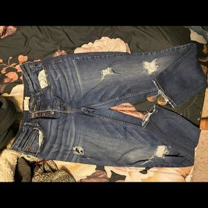 Maurice distressed jeans
